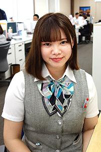 宇都宮本社 事務 佐藤 絢子